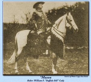 *Muson with Buffalo Bill